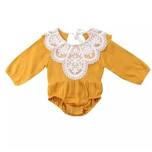 Other - NWT Yellow Long Sleeve Onesie